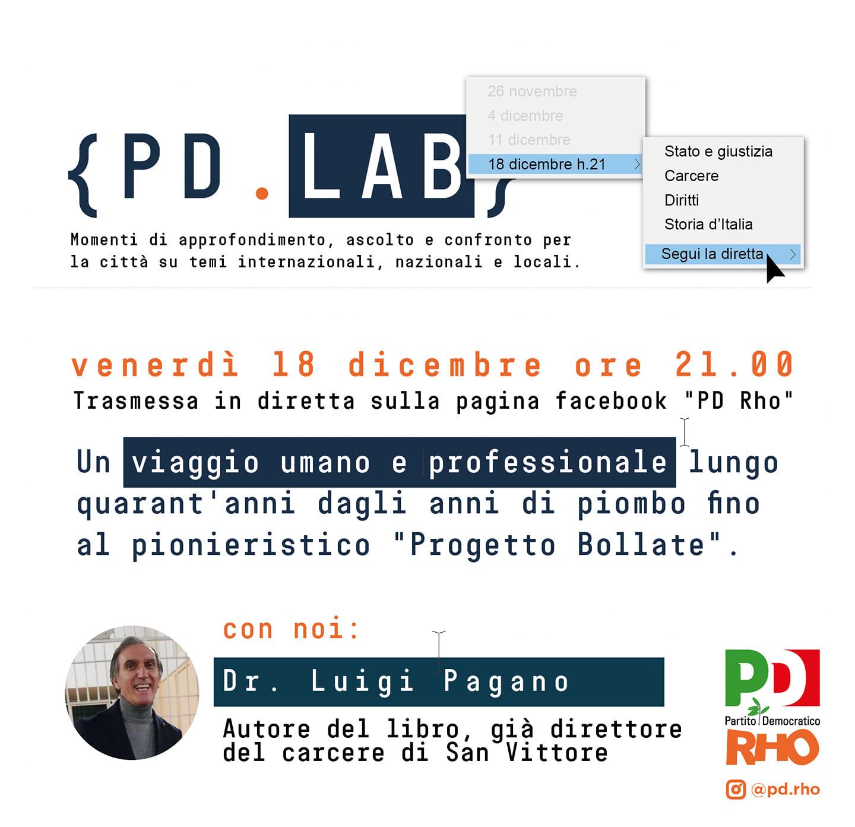 18 Dicembre – PD Lab